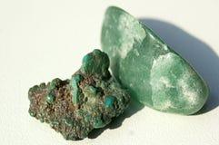 Jade Stones Fotografía de archivo libre de regalías