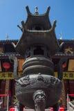 Jade Temple in Shanghai Stockfotografie