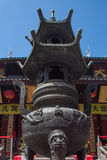 The Jade Temple in Shanghai Stock Photography
