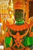 Jade vert Bouddha Photographie stock libre de droits