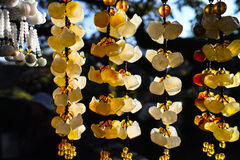 Jadeanhänger Stockbild