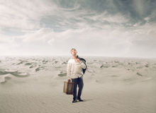 Jaded in the Desert Stock Photo