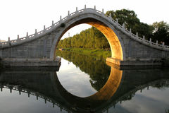 Jadegurtbrücke Lizenzfreies Stockfoto