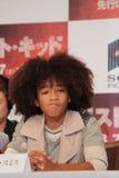 Jaden Smith em Karate Kid (o melhor miúdo) Fotos de Stock Royalty Free