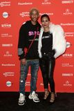 Jaden Smith Jada Pinkett Smith Royaltyfria Bilder