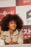 Jaden Smith in Karate Kid (bestes Kind) Stockbild