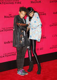 Jaden Smith och Willow Smith Royaltyfri Fotografi