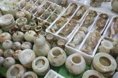 Jadeprodukte Stockbild