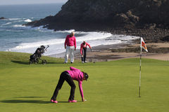 JadeScheaffer (FRA) Dinard golf cup 2011 Royalty Free Stock Photo