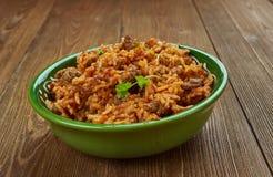 Jadoh με το ρύζι στοκ φωτογραφίες