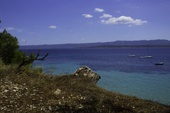 Jadranoverzees stock foto