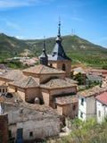 Jadraque Castilla la Mancha, Spanien Arkivbilder