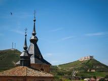 Jadraque Castilla la Mancha, Spanien Arkivbild