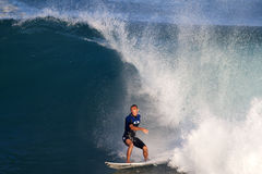 Jadson Andre of Brazil, Surfing at Off the Wall Stock Photo