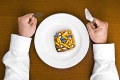 Medycyna posiłek. Zdjęcia Royalty Free