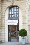 Jaeger Le Coultre shop in place Vendome in Paris Stock Photos