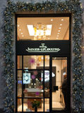 Jaeger LeCoultre shop in Milan Royalty Free Stock Image
