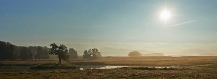 Jaegersborg自然公园,丹麦 免版税库存照片