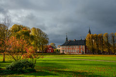Jaegerspris城堡,丹麦 免版税库存图片