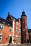 Jaegerspris Palace, Frederikssund, Denmark. The royal palace from the 14th century Royalty Free Stock Photo