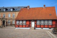 Jaegerspris Palace, Frederikssund, Denmark. Jaegerspris Palace - The royal palace from the 14th century Royalty Free Stock Photo