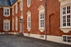 Jaegerspris Palace, Frederikssund, Denmark. Jaegerspris Palace - The royal palace from the 14th century Stock Photo