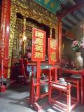 Jael Aeng Beal Chinese Shrine , Bangrak , Bangkok ,  Thailand Stock Photos
