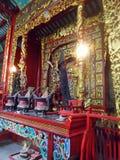 Jael Aeng Beal Chinese Shrine , Bangrak , Bangkok ,  Thailand Stock Photo