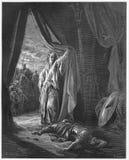 Jael y Sisera ilustración del vector