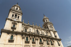 Jaen Andalucia, Spain: cathedral Stock Photo