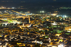 Jaen City at night Spain Stock Photography