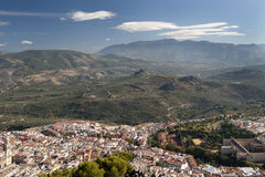 Jaen City Spain Stock Photography