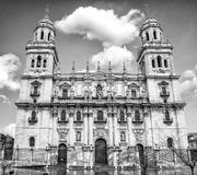 Jaen katedra Obrazy Royalty Free