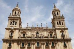 Jaen-Kathedrale in Andalusien Spanien Lizenzfreies Stockfoto