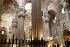 Jaen-Kathedrale in Andalusien Spanien Lizenzfreie Stockfotografie