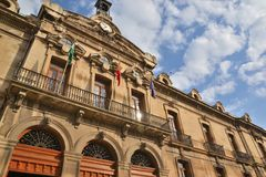 Jaen town hall Stock Photo