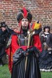Jafar和公平矮子的幻想的Lago 库存图片