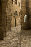 Jaffa ,an Alley in the old city. An Alley in the old city of Jaffa ( Tel Aviv ) a old port cite on the coast of the Mediterranean Sea royalty free stock photography