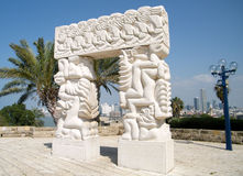 Jaffa Arch 2010 Royalty Free Stock Photos