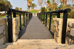 Jaffa bridge. Royalty Free Stock Photography