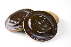 Jaffa cakes or biscuits Stock Photography
