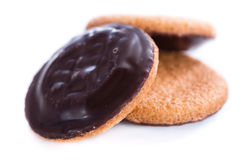 Jaffa Cakes (isolated on white) Stock Image