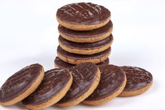 Jaffa cakes Royalty Free Stock Images