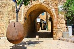 Jaffa Cidade de porto antiga de Israel imagens de stock royalty free
