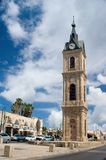 The Jaffa Clock Tower Royalty Free Stock Photography