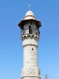 Jaffa de minaret van al-Bahr Moskee 2012 Royalty-vrije Stock Afbeelding