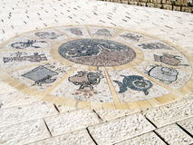 Jaffa de Zodiacal tekens 2010 stock afbeelding