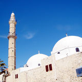 Jaffa domes and minaret of Mahmoudiya Mosque 2011 Stock Image