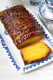 Jaffa drizzle loaf. Stock Images