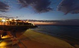 Jaffa en la noche Foto de archivo libre de regalías